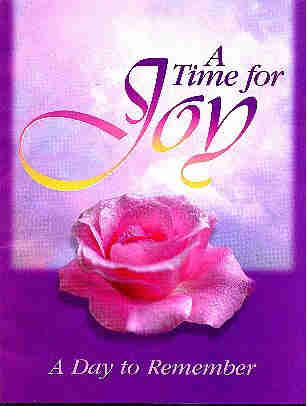 cover of A Time For Joy